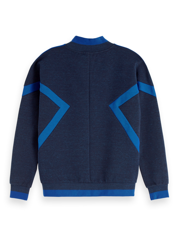 Women High Neck Colour Block Sweater