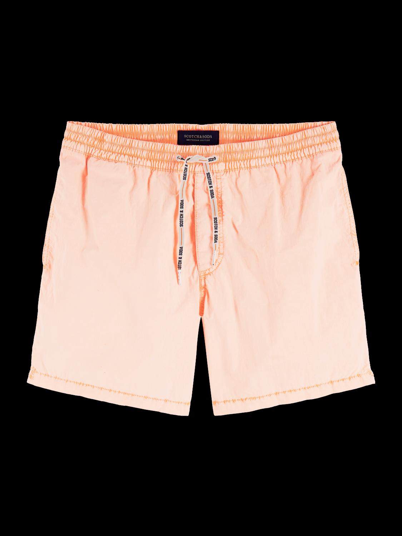 Men Garment dyed swim shorts