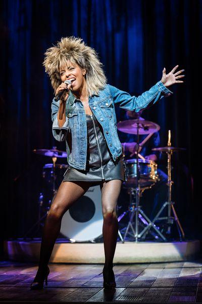14. Adrienne Warren as Tina Turner. Photo by Manuel Harlan © Manuel Harlan