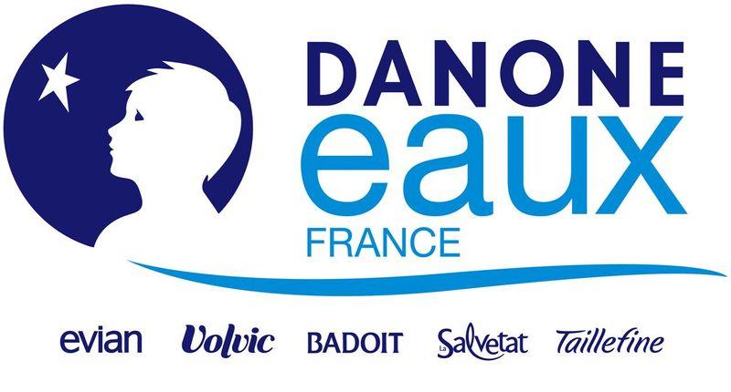 Logo Danone Eaux