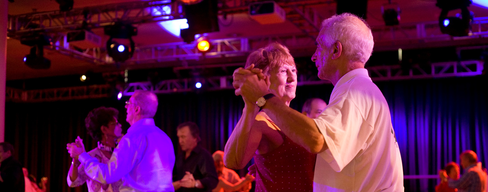 Couples Dancing at the Royal Festival Hall