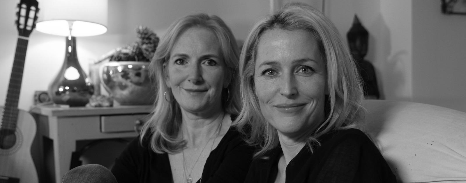 Portrait of Gillian Anderson & Jennifer Nadel
