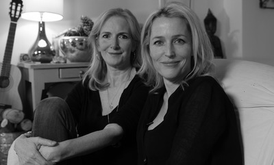Portrait of Gillian Anderson & Jennifer Nadel