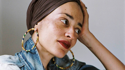 Zadie Smith, photographed by Dominique Nabokov