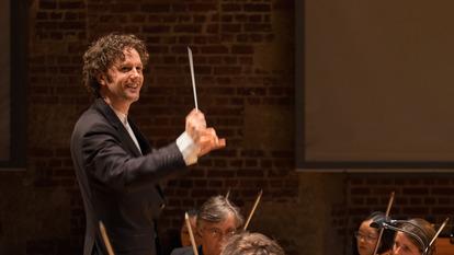 Portrait of Conductor, Nicholas Collon