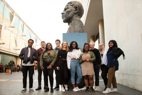 Photo of Southbank Centre Youth Ambassadors 2017