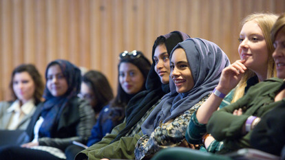 Audience at No Country for Young Women Talk