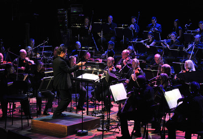 BBC Concert Orchestra Playing