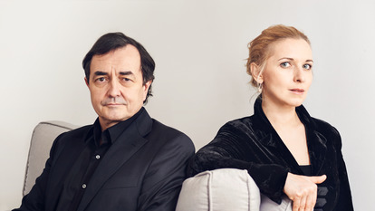 Portrait of Aimard and Stefanovich