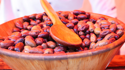 Photo of a bowl of olives to promote Dates & Olives: Breaking Fast at Southbank Centre