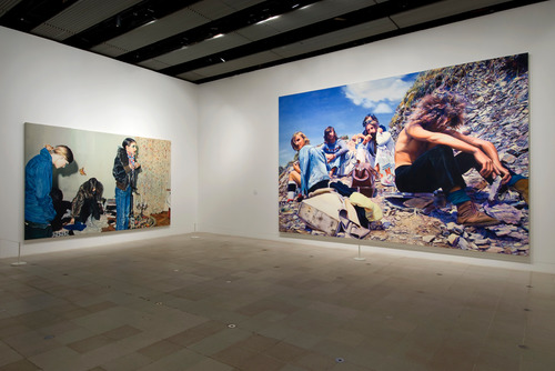 Installation Views at THE PAINTING OF MODERN LIFE Exhibition at Hayward Gallery