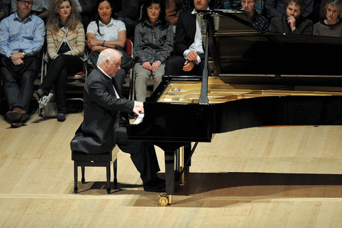 Daniel Barenboim performing at the Southbank Centre