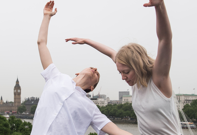 Dancers on Royal Festival Hall Rooftop