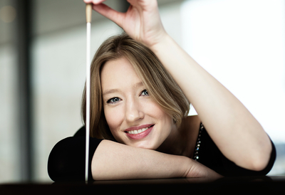 Portrait of Conductor, Joana Mallwitz