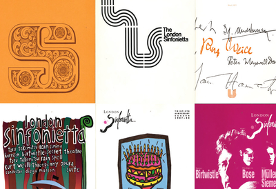 The London Sinfonietta Album Covers
