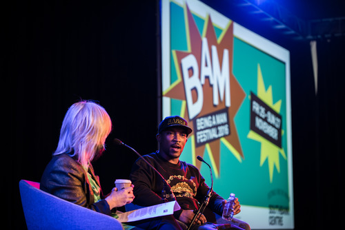 Jude Kelly interviews Ashley Walters at Being a Man festival 2016