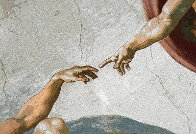 Michelangelo's ceiling painting, Sistine Chapel