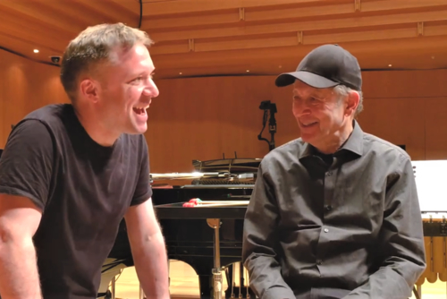 Colin Currie and Steve Reich