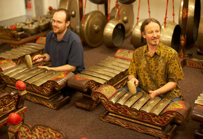 Two Participants at Gamelan Group Workshops