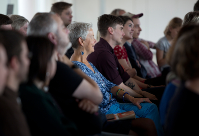 Audience at Southbank Centre talk