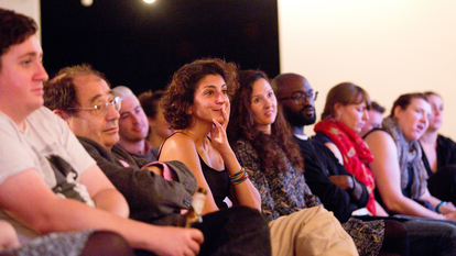 Audience Members at Talk