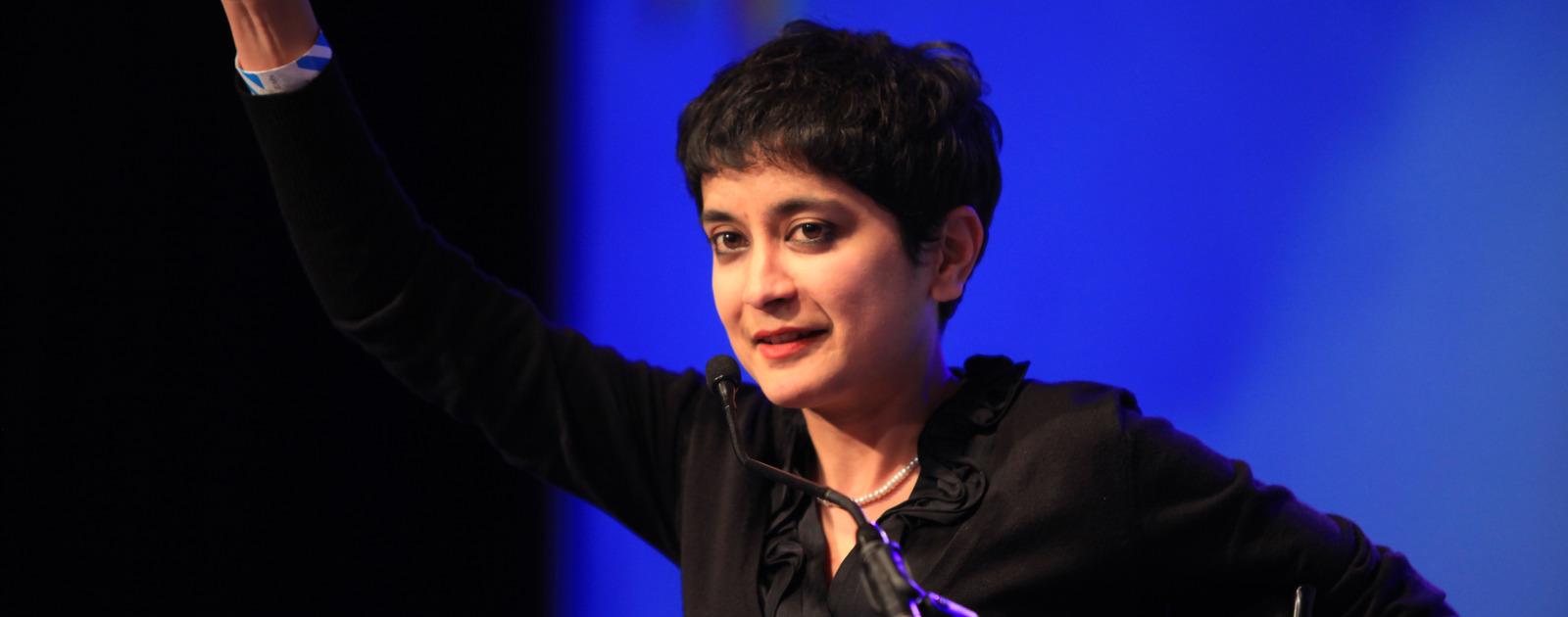 Shami Chakrabarti at Women of the World Festival 2013