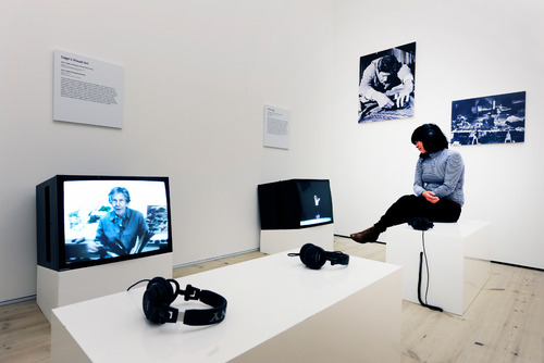 Installation View by artist,  John Cage at HAyward Touring Exhibition