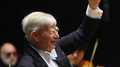 06.05.2010, Gewadhaus zu Leipzig, Grosses Concert, Gewandhausorchester, Herbert Blomstedt, .© Gert Mothes.Sparkasse Leipzig.Konto 1891191701.BLZ 86055592..