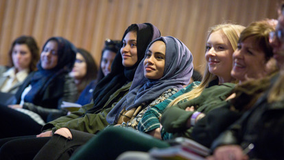 Young Women at Talk