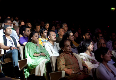 Audience Members at a Talk