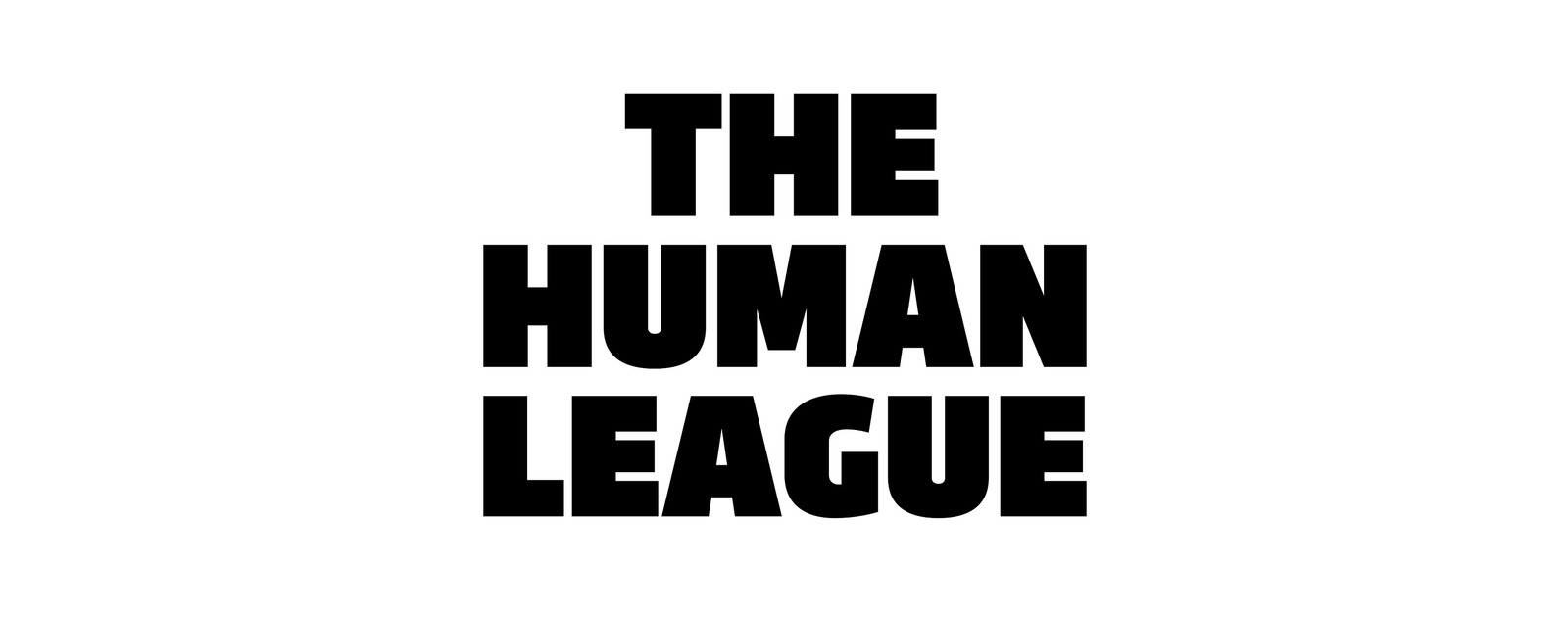 The Human League band logo