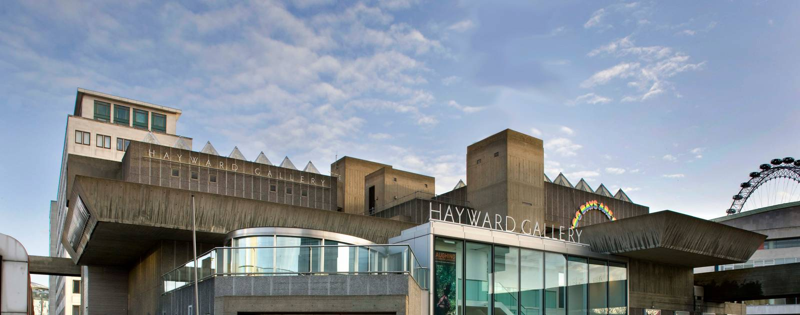 The Hayward Gallery Building at the Southbank Centre
