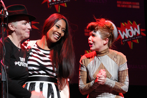 Annie Lennox, V V Brown and Paloma Faith perform at Women of the World Festival Finale
