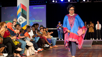 Catwalk at Africa Utopia Festival