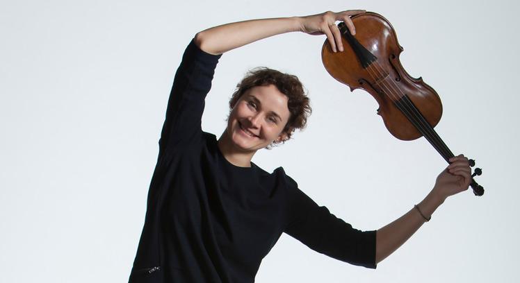 Violinist, Claudia Norz