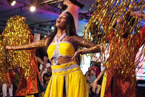 Bollywood Dancer performing