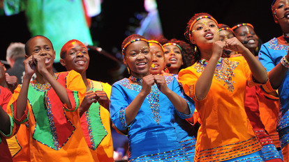 Young Girls from Global Voices National Youth Choir
