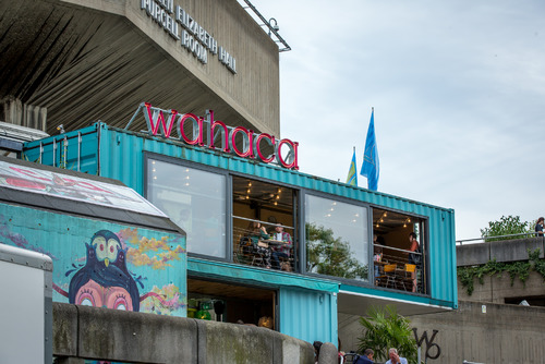 Exterior view of Wahaca at the Southbank Centre