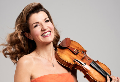 Violinist, Anne-Sophie Mutter