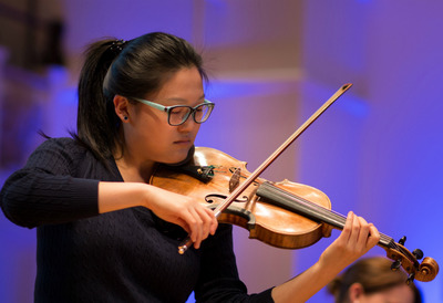 Violinist from Royal OverSeas League Annual Music Competition