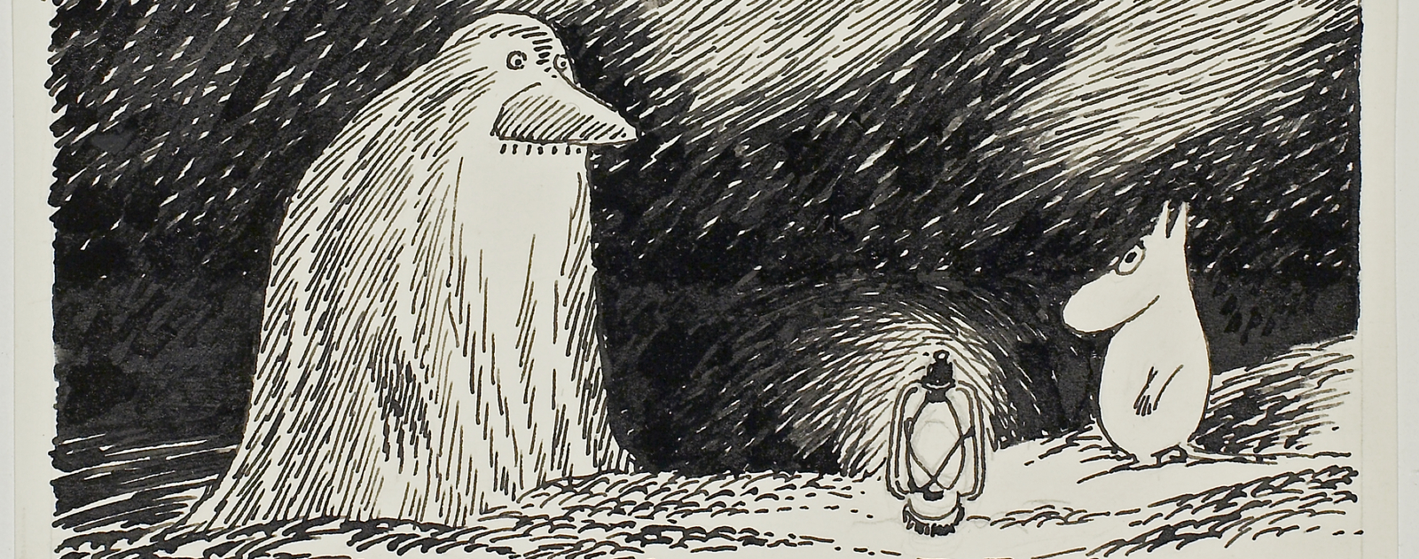Tove Jansson, The Groke from 'Moomin Papa at Sea'