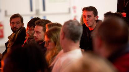 Audience at Panel Talk