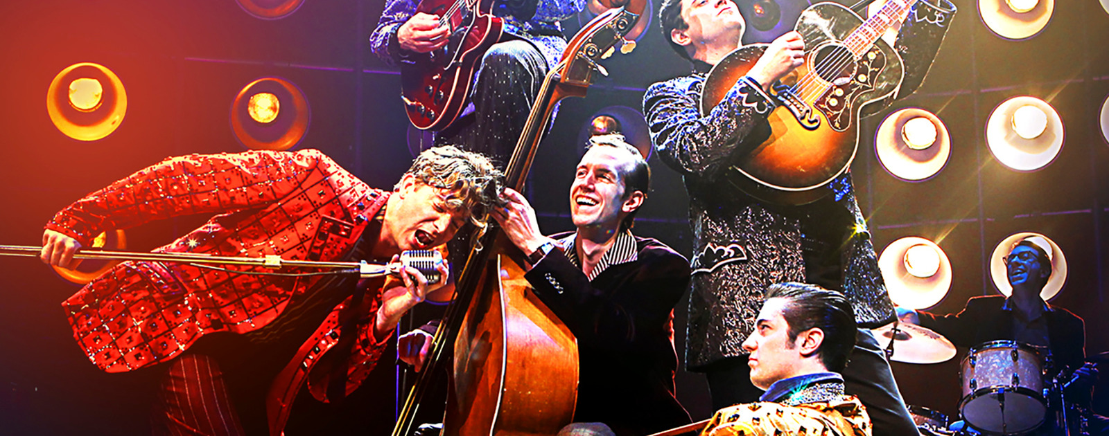 Image of the Million Dollar Quartet