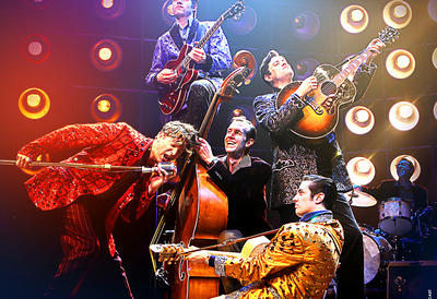 Image of the Million Dollar Quartet