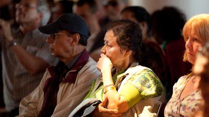 Audience Members at Talk