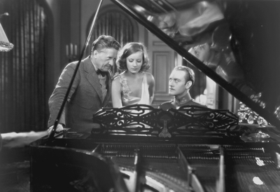 The Mysterious Lady Film Still with Greta Garbo and Conrad Nagel