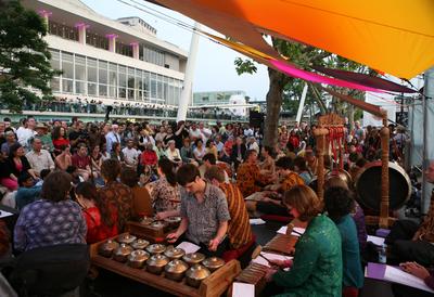 Gamelan Players at Festival of Love