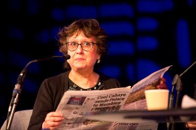 Yasmin Alibhai-Brown presenting WOW Views on the News