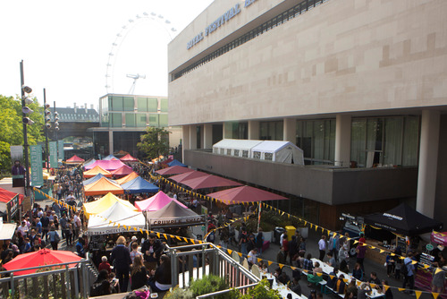 The Alchemy Food Market at the Southbank Centre