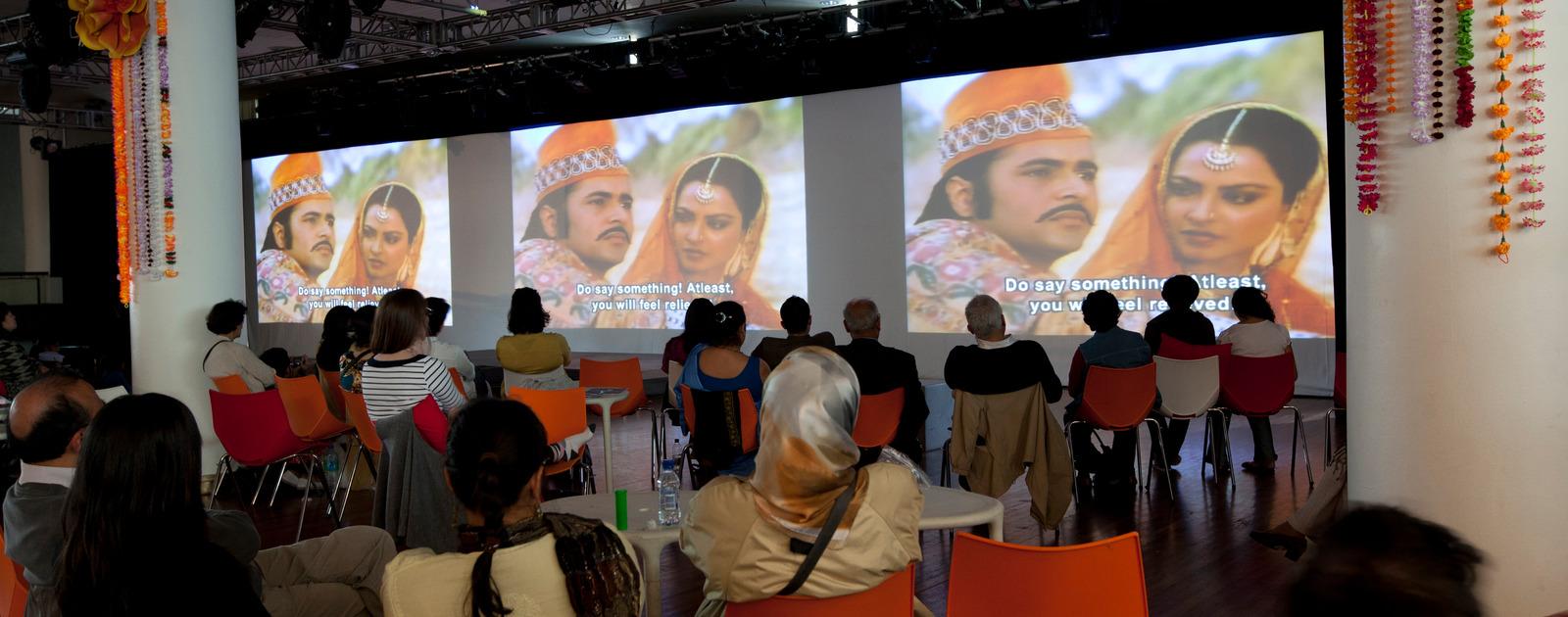 Audience Watching Films